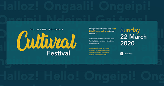 Cultural Festival 2020