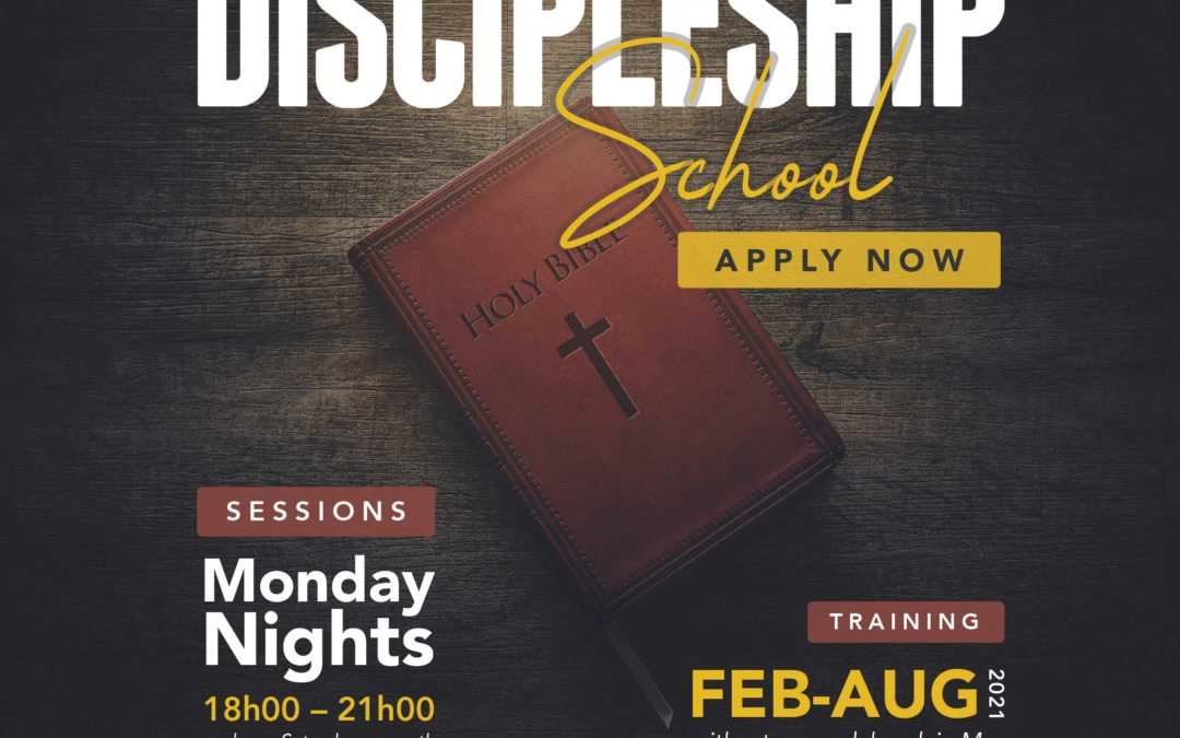 Discipleship School 2021 Applications
