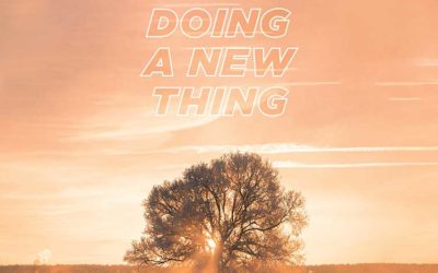 Vision 2021: For I am Doing a New Thing